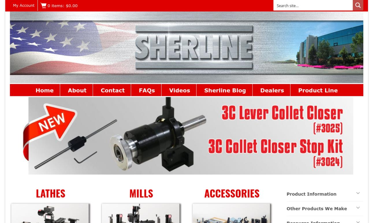 Sherline Products, Inc.
