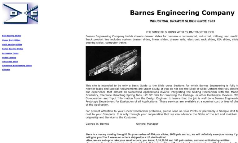 Barnes Engineering Company