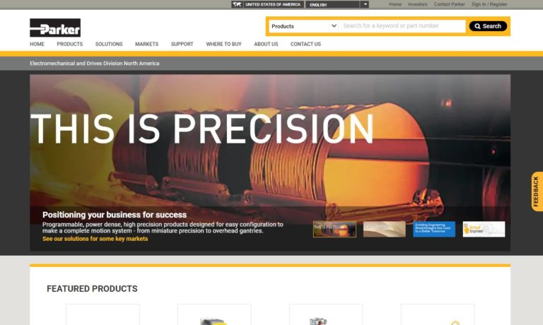 Parker Hannifin - Electromechanical & Drives Division